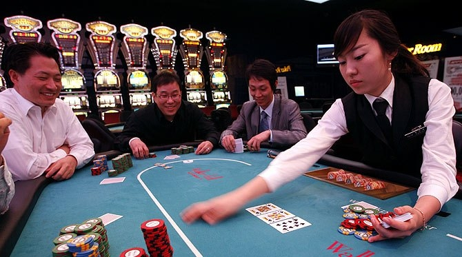 Korean casinos making a living gambling